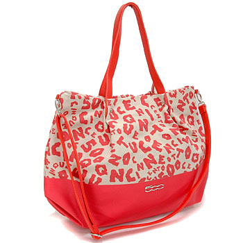 FIAT 500 Tote Bag(Red)