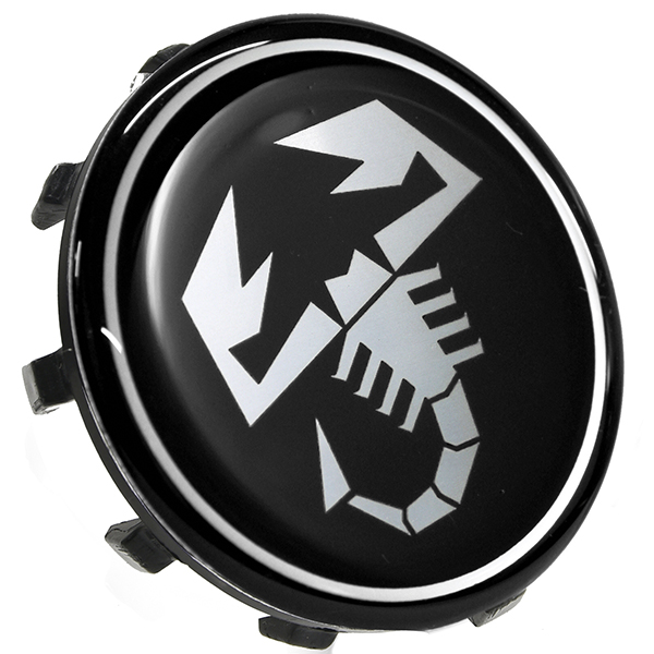 ABARTH 500 Wheel Hub Cap(Scorpione/Black/60mm)