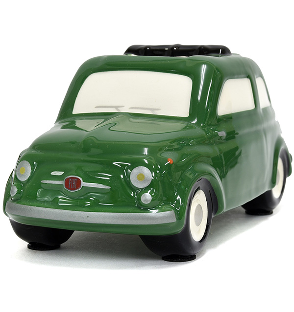 FIAT 500 Coin Bank(Large/Green)