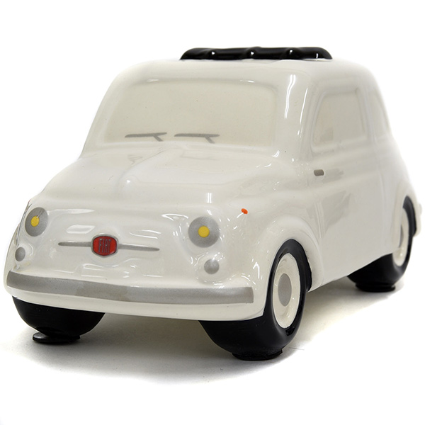 FIAT 500 Coin Bank(Large/White)