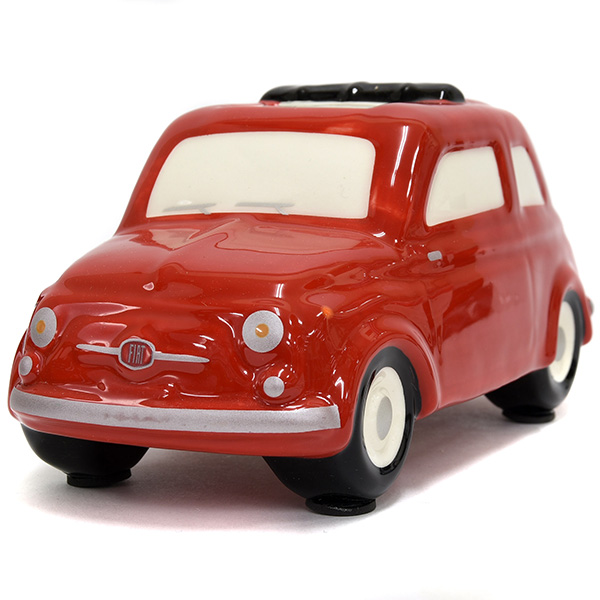 FIAT 500 Coin Bank(Large/Red)