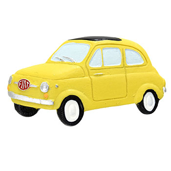 FIAT 500 Magnet(Yellow)