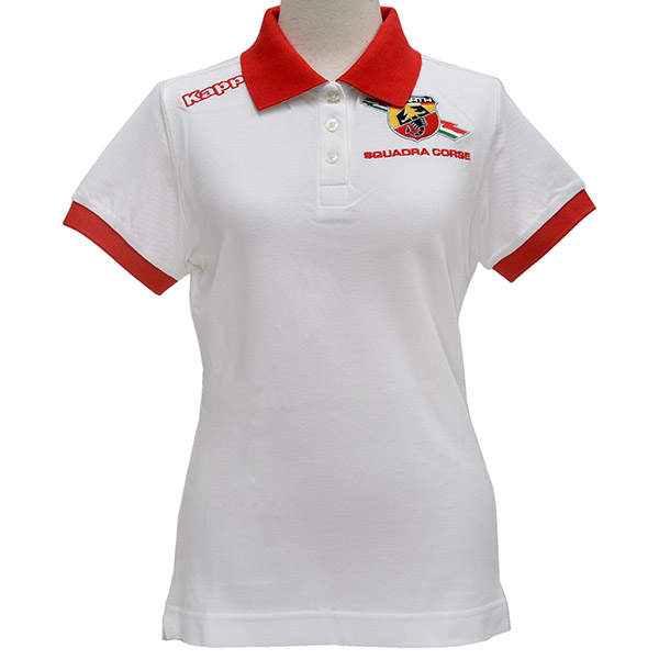 ABARTH LADY Polo/White by kappa