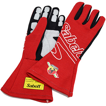 ABARTH Racing Gloves by Sabelt