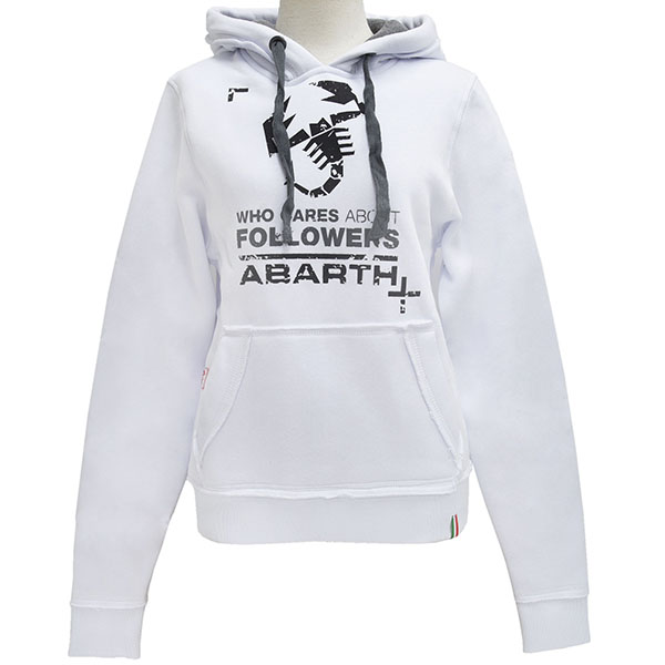 ABARTH LADY Hoody-FOLLOWERS/White-