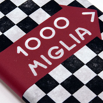 1000 MIGLIA Official iPhone6/6s Cover-CHEQUERED FLAG-