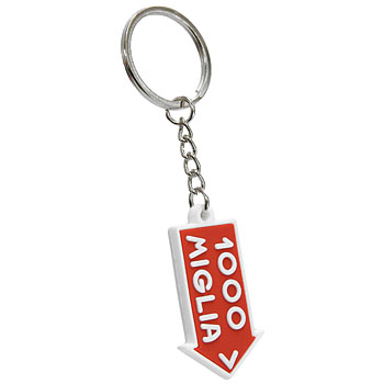 1000 MIGLIA Official Rubber Keyring 2015