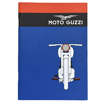 MOTO GUZZI Official A5 Note(Blue/Type A)