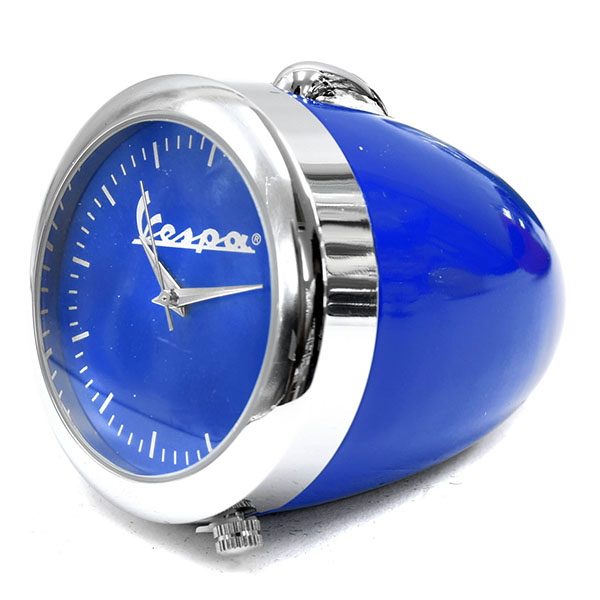 Vespa Official Headlight Clock(Blue)