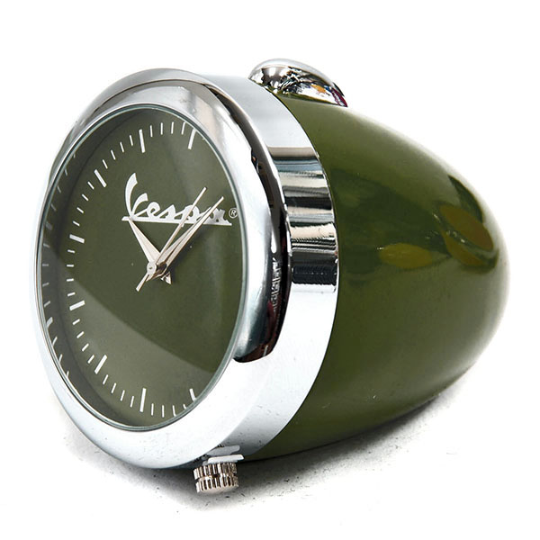 Vespa Official Headlight Clock(Green)