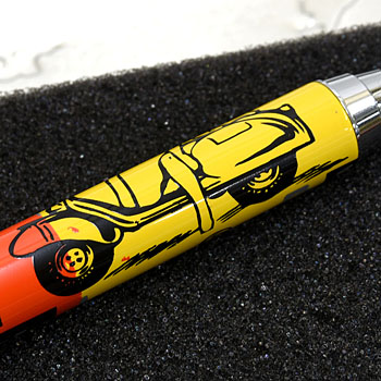Vespa Official Ballpoint Pen-Yellow-