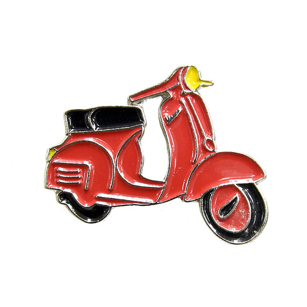 Vespa Official Pins(Red)