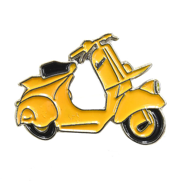 Vespa Official Pins(yellow)