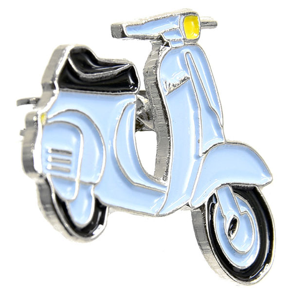 Vespa Official Pins(Sky Blue)