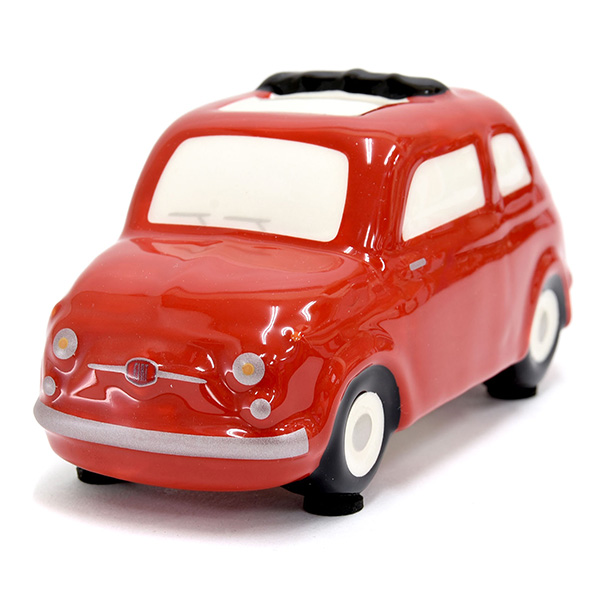 FIAT 500 Coin Bank(Small/Red)