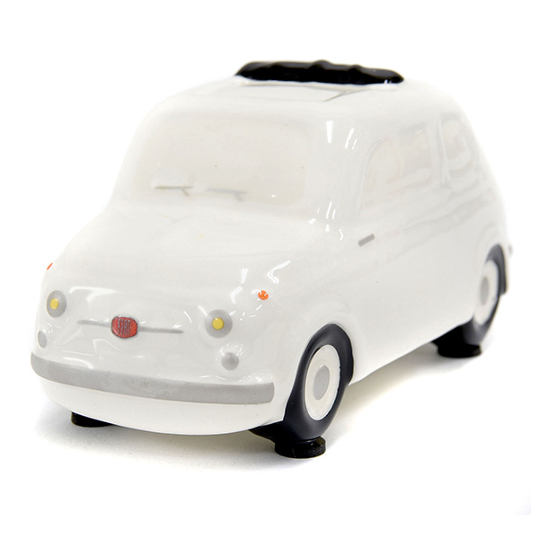 FIAT 500 Coin Bank(Small/White)