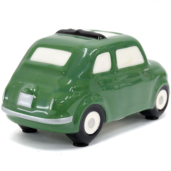 FIAT 500 Coin Bank(Small/Green)