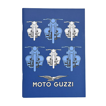MOTO GUZZI Official A5 Note(Blue/Type B)