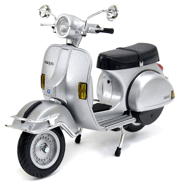 1/12 Vespa Official P200E del Miniature Model(Silver)