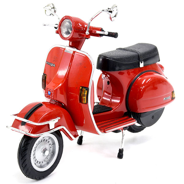 1/12 Vespa Official P200E del Miniature Model(Red)