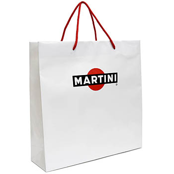 MARTINI Paper Bag(White)