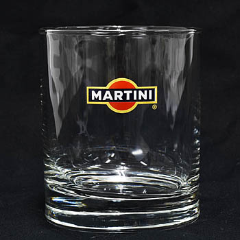 MARTINI Official Tumbler Glass