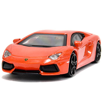 1/43 Lamborghini Aventador Miniature Model(Orange)