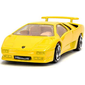 1/43 Lamborghini Diablo Miniature Model(Yellow)