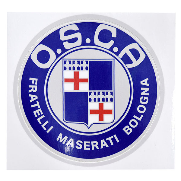 O.S.C.A.Emblem Sticker(88mm)