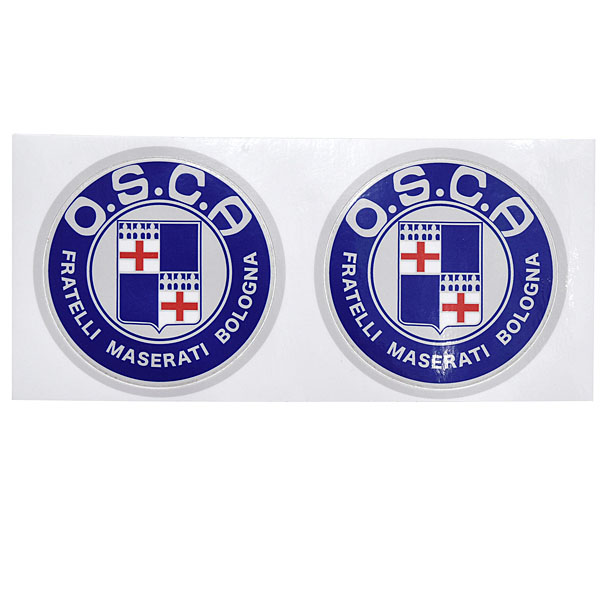 O.S.C.A.Emblem Sticker(66mm/2pcs.)