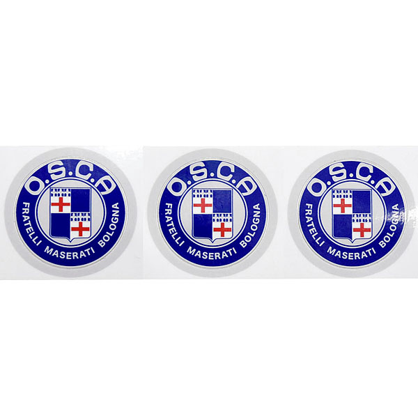 O.S.C.A.Emblem Sticker(34mm/3pcs.)