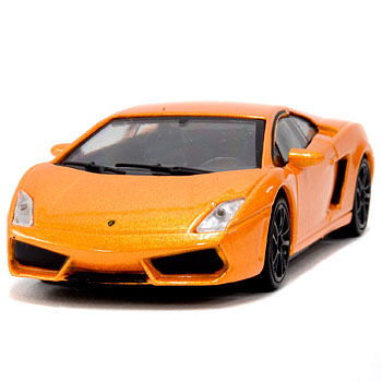 1/43 Lamborghini Gallardo Miniature Model(Orange)