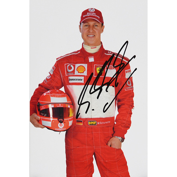 Scuderia Ferrari 2006 Press Card-M.Schumacher Signed- Type A