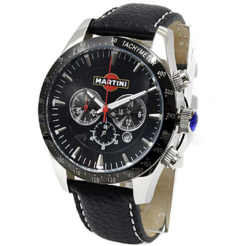 MARTINI Official Wrist Watch(Leather Belt)