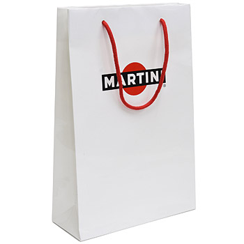 MARTINI Paper Shopper(White/Small)