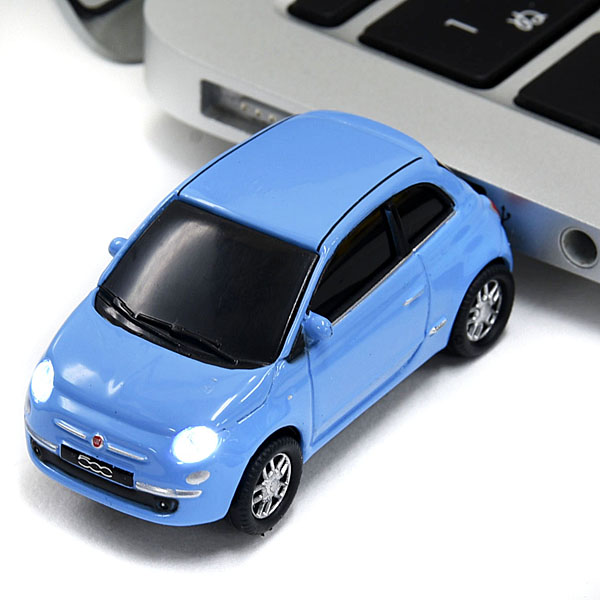 1/68 FIAT 500 Shaped USB Memori(Light Blue/8GB)