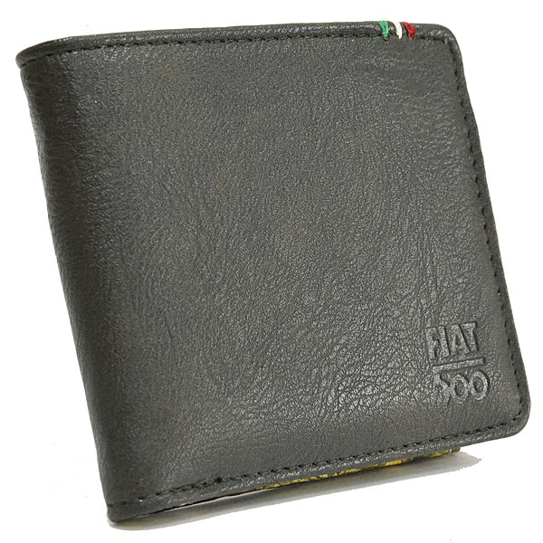 FIAT 500 Wallet(Dark Green)