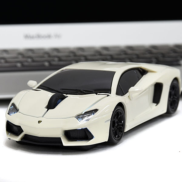 Lamborghini Aventador wireless mouse(white)
