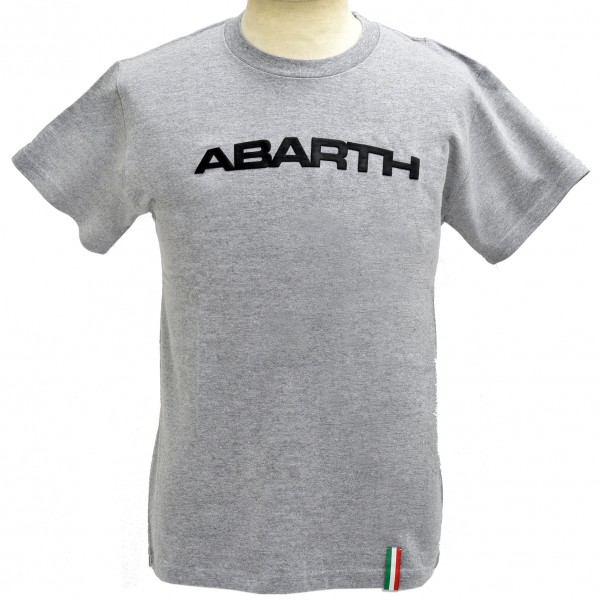 ABARTH純正シンプルロゴTシャツ(ライトグレー)<br><font size=-1 color=red>01/17到着</font>