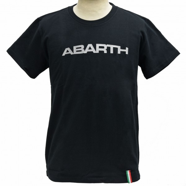 ABARTH Simple Logo T-Shirts(Black)