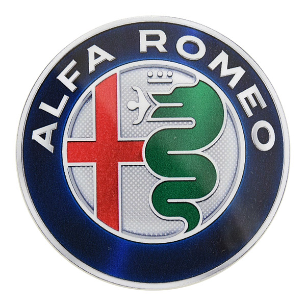 Alfa Romeo New Emblem Sticker(60mm)