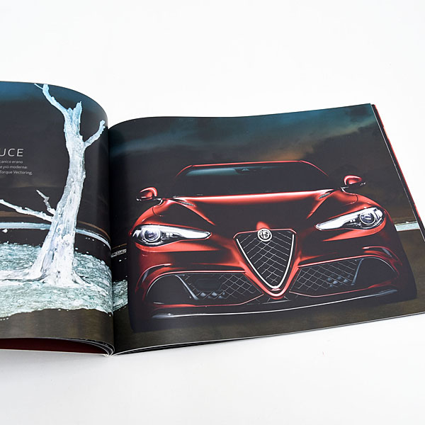 Alfa Romeo GIULIA Press Catalogue