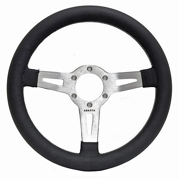 ABARTH Steering Wheel (ABARTH CISITALIA/320mm/Silver)