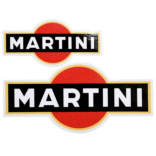 MARTINI Vintage Type Sticker