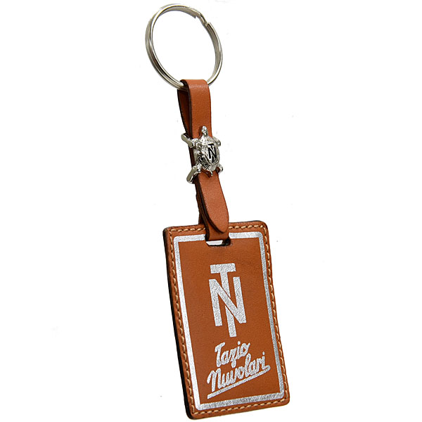 Tazio Nuvolari Leather Keyring