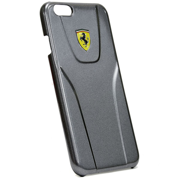 Ferrari iPhone6/6s case-3D/gun metal-