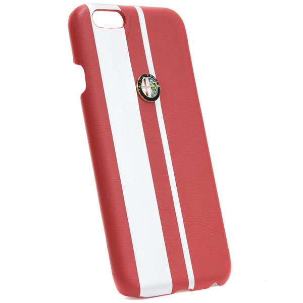 Alfa Romeo iPhone6/6s case(Red/Silver)
