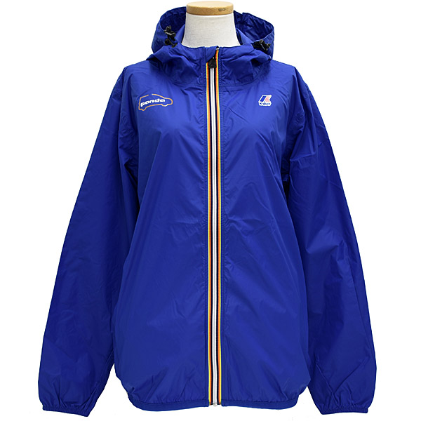 FIAT-K WAY Panda Water Proof Jacket(for Women/Blue)