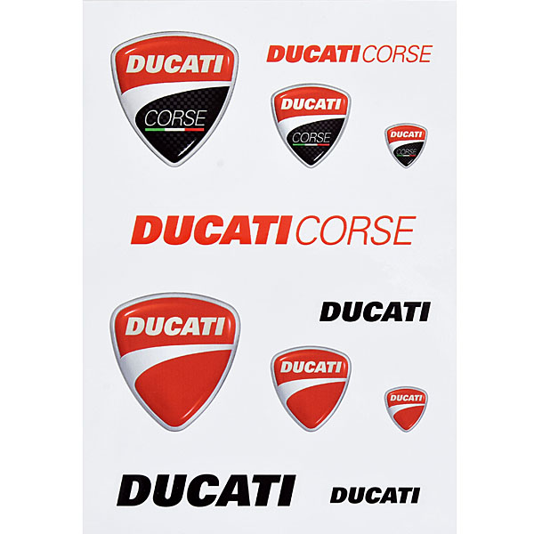 DUCATI純正ステッカーセット-MIX-<br><font size=-1 color=red>04/30到着</font>