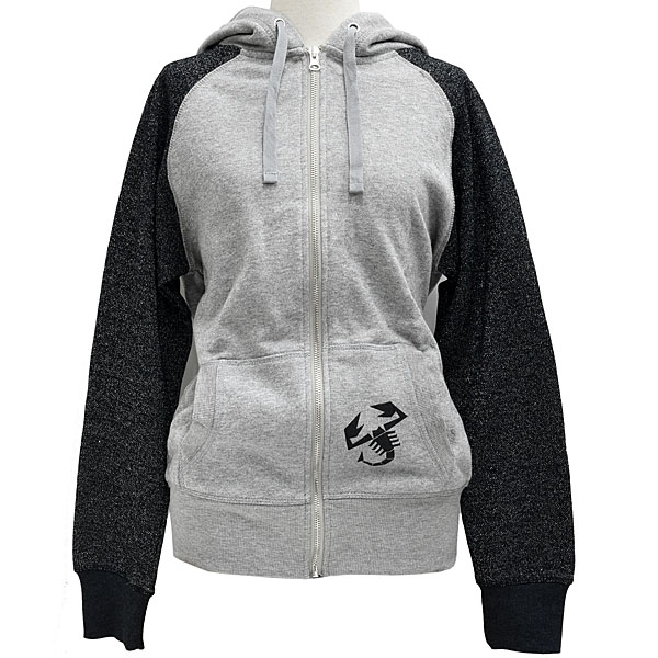ABARTH Ladies Glitter Full-Zip Hooded Sweatshirt